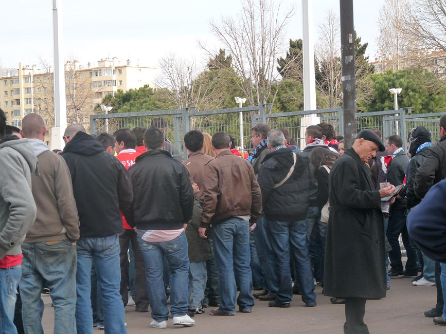 OM //BENFICA ...PHOTOS VIDEOS ..LA DESILLUSION EUROPEENNE 944235P1070389