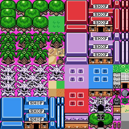 TileSet Zelda [Retouché] 949932TileE