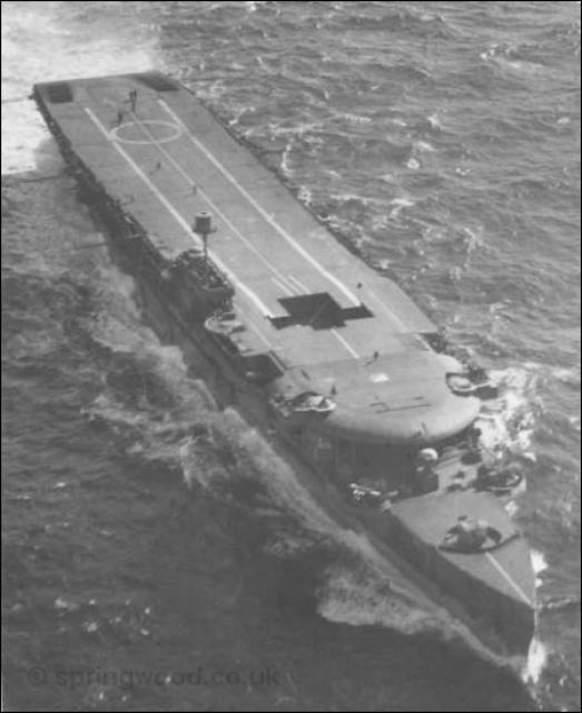 ROYAL NAVY PORTE AVIONS HMS FURIOUS 962856hmsfurious_from_air
