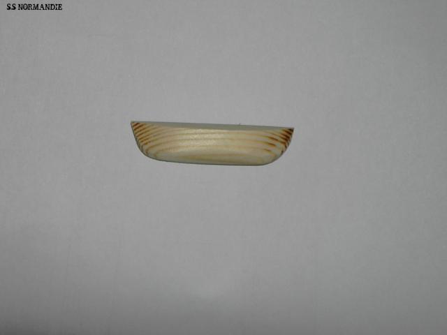 S.S Normandie  échelle 1/160 104857canots