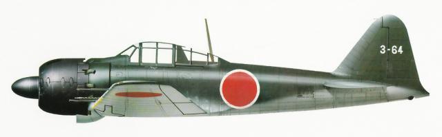MITSUBISHI A6M ZEKE 116496A6M5_Type_52Hei_5