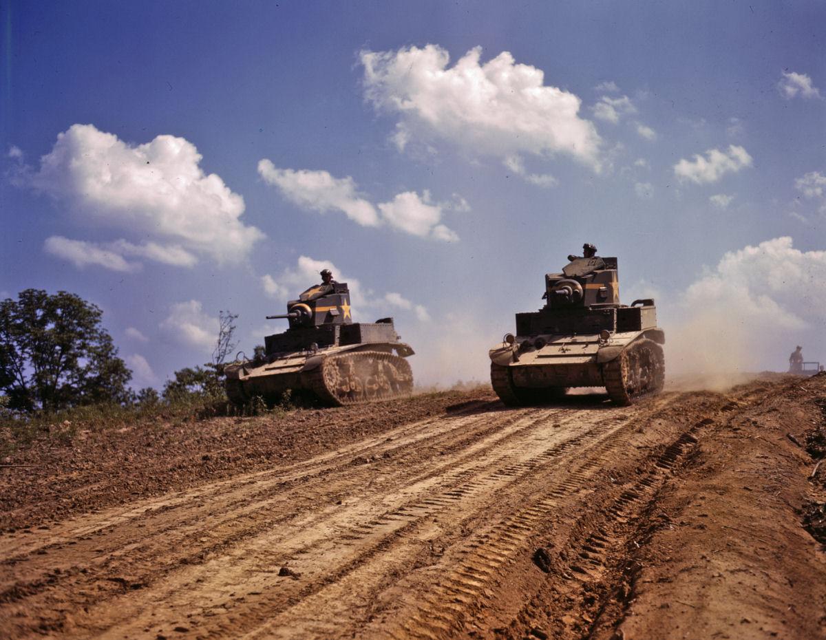 La compagnie de chars Américaine 138088M3_Stuart