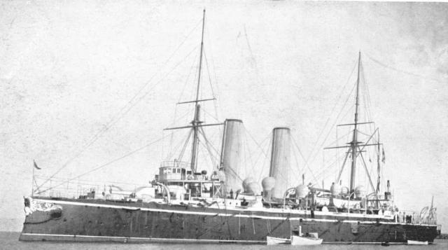 ROYAL NAVY CROISEURS LOURDS CLASSE COUNTY 141290Croiseur_cuirasse_HMS_Blake