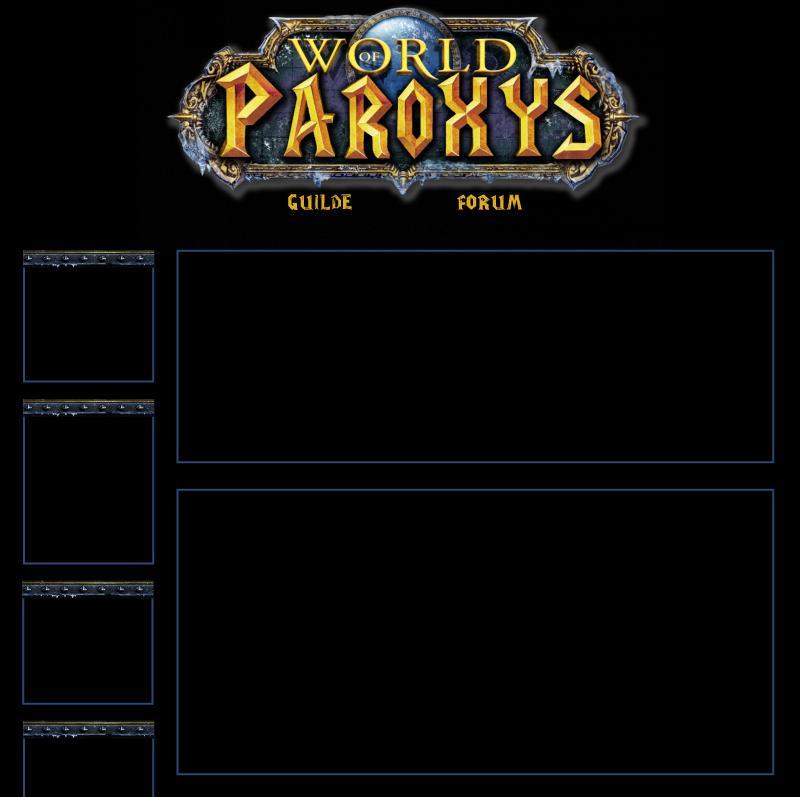 Site Web Officiel de Parøxys 152378Accueil