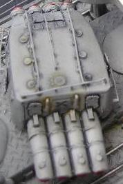 Yukikaze Tamiya 1/350. 166575batterie