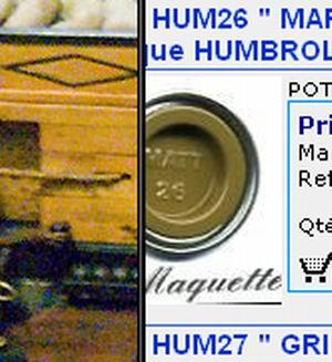 """La Belle Poule """"Heller""""1/200 - Page 2 168256Marron_kaki_mat"""