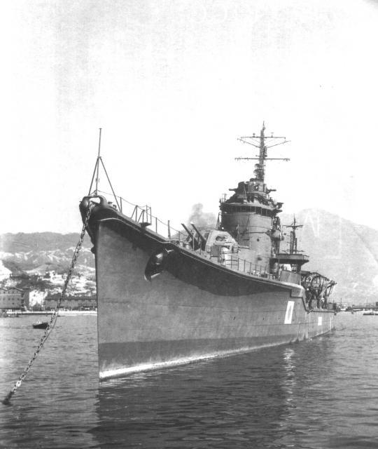 JAPON DESTROYERS CLASSE AKITZUKI 190792Yoizuki