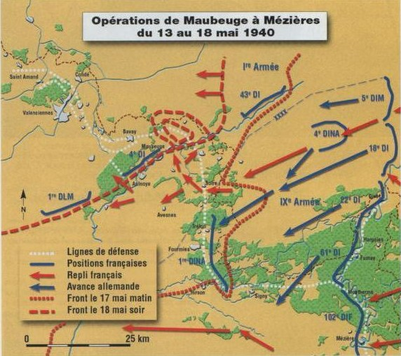 Le second siège de Maubeuge en Mai 1940 1910408