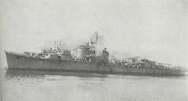 JAPON DESTROYERS CLASSE AKITZUKI 191313Wakatsuki