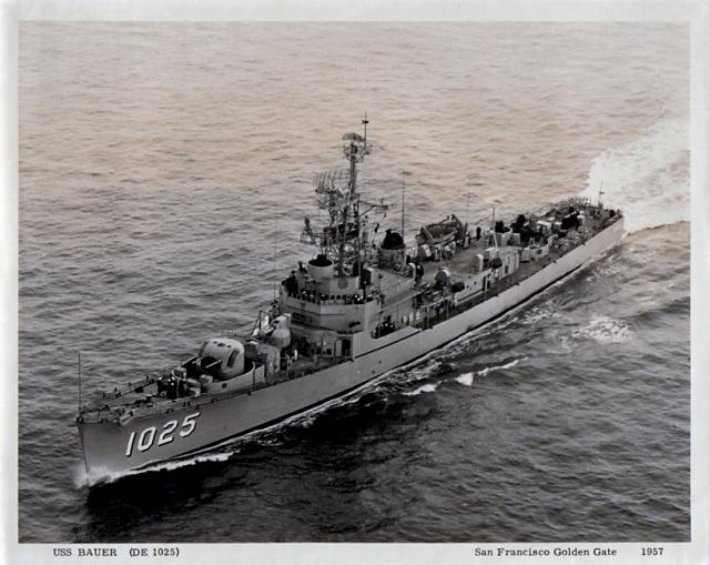 USN DESTROYERS D'ESCORTE CLASSE DEALEY 193955USS_Bauer
