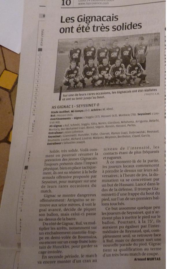 AS GIGNAC LA NERTHE //  DHR MEDITERRANEE  PROVENCE  202021P1030590