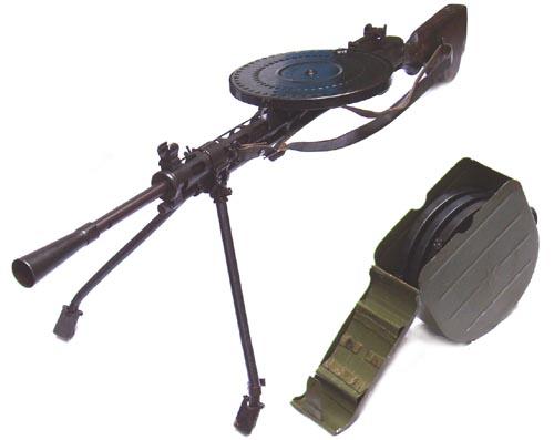 Les armes de l'infanterie: Les mitrailleuses. 215541FM_DP28
