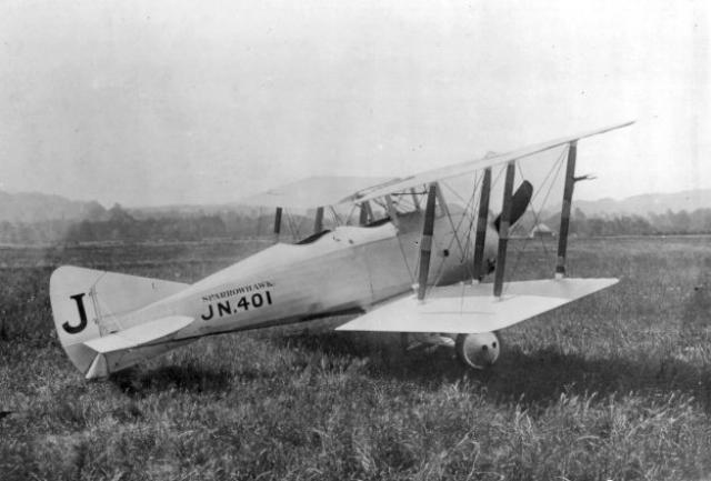 MITSUBISHI A6M ZEKE 221619Gloster_Sparrowhawk_2