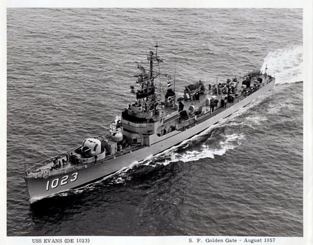 USN DESTROYERS D'ESCORTE CLASSE DEALEY 225803USS_Evans