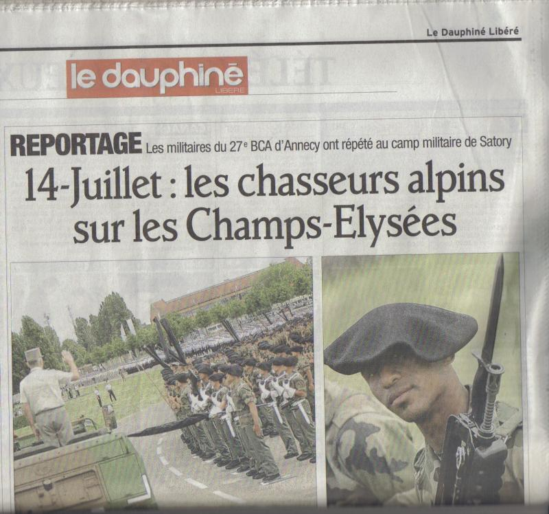 Dauphiné libéré 27°BCA 2391227_BCA