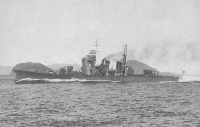 La bataille navale des îles Komandorski 248466Japanese_cruiser_Nachi_1929