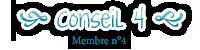 Conseil 4 - Membre n°4