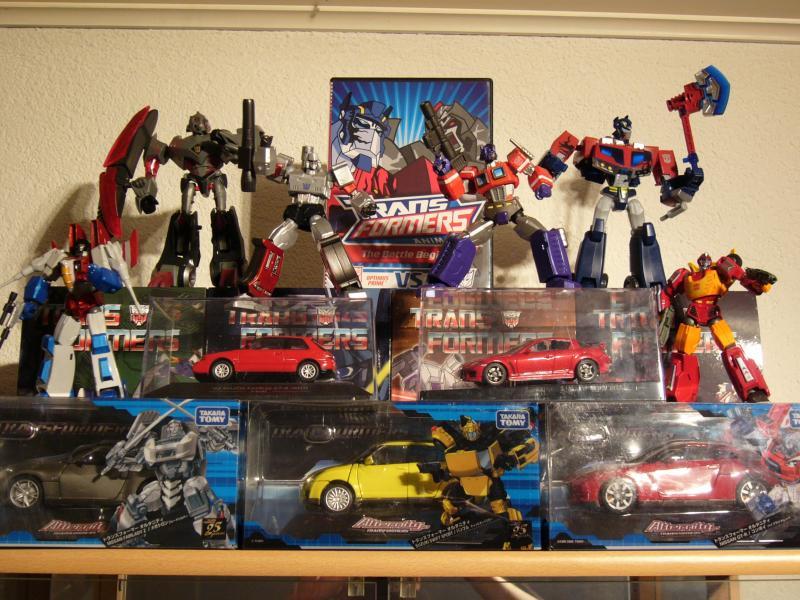 """Collection Nosfe """"Transformers & Hokuto No Ken & Cie"""" 284050P1030570"""