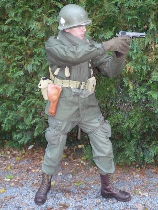 Moi en para (M43 pour Bastogne) 3173625