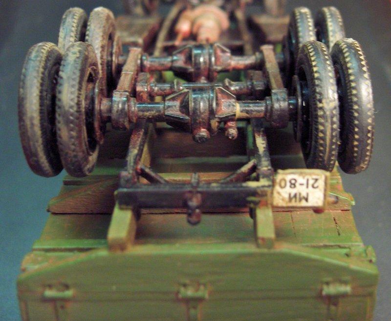 Camion Russe  GAZ-AAA 1934/1943 Zvezda 1/35 terminé!!! 323646HPIM1660