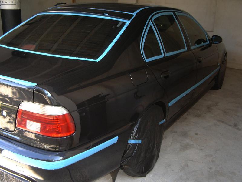 [BMW 530 d E39] Renaissance d'un Cosmos Schwarz Metallic 336686P1000653