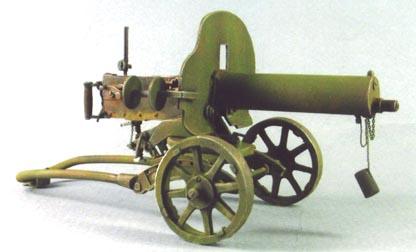 Les armes de l'infanterie: Les mitrailleuses. 337382MG_Maxim