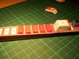 Construction du cargo Bulk Carrier en papier 347767100_1935