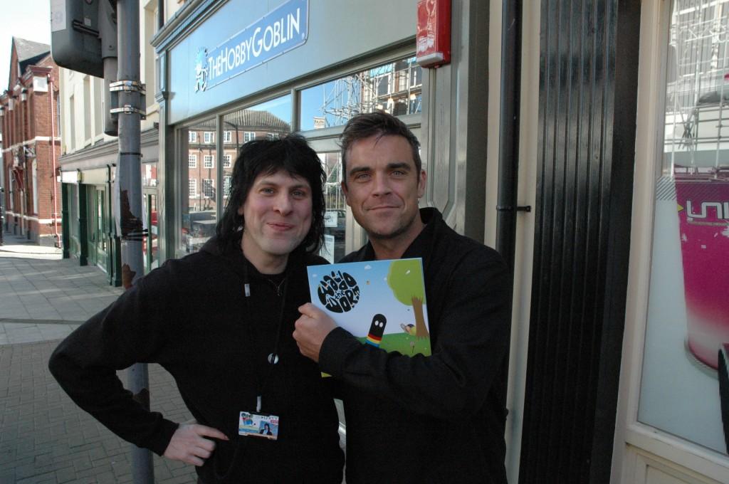 Robbie en visite à Blurton 04-10-2010 374496unit13