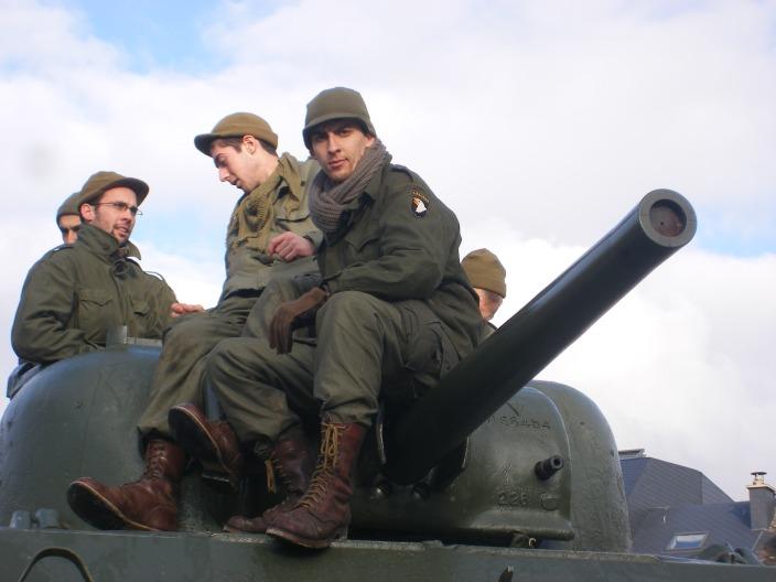 Moi en para (M43 pour Bastogne) 3908473