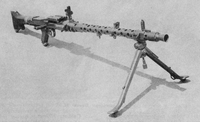 Les armes de l'infanterie: Les mitrailleuses. 392142MG34