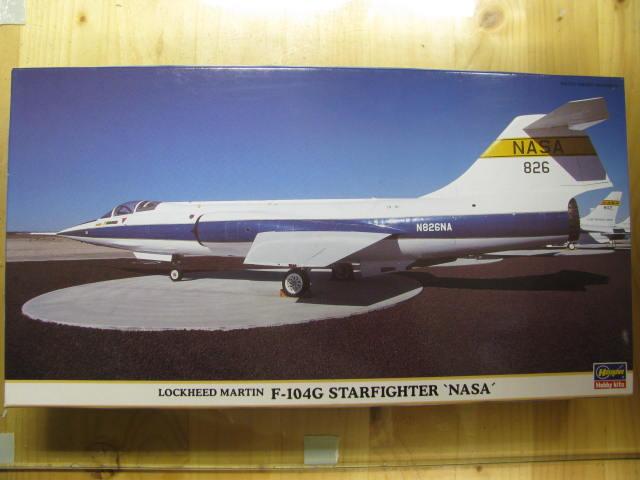 DUO: F-104N (NASA) + F-104G (BAF) Hazegawa 1/48  403507IMG_3149