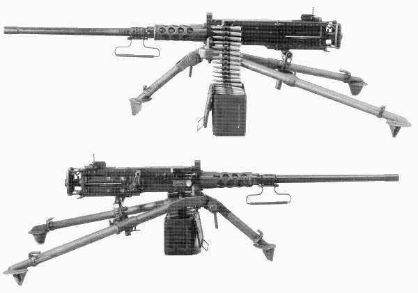 Les armes de l'infanterie: Les mitrailleuses. 423935MG_Cal._50