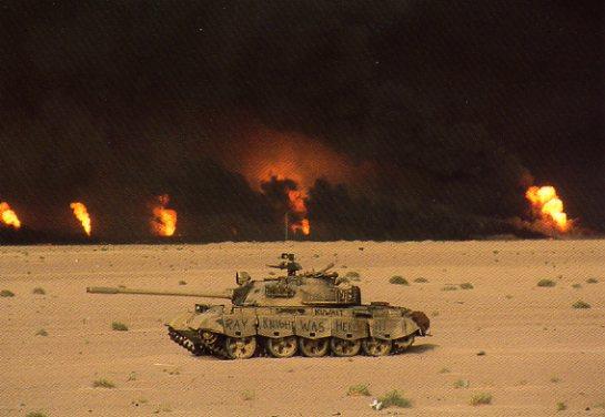 Opération Désert Storm (1990/1991) 424182GWOilWellsTank