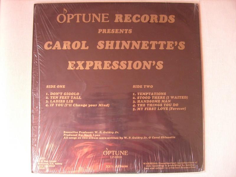 LP-CAROL SHINNETTE-THE EXPRESSIONS OF CAROL SHINNETTE-198? 433410c2
