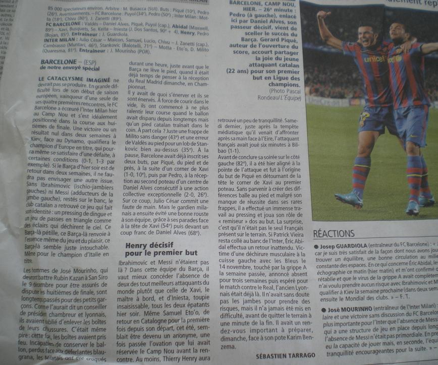 LES CATALANS DU FC BARCELONA DE MARC SABATES //*// - Page 2 448598IMGP8831