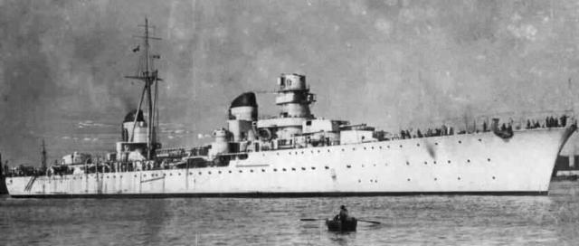 [MFA] BATAILLE NAVALE DE BENGHAZI 7-13 JANVIER 1949 456922Eugenio_di_savoia_Capitani_Romani