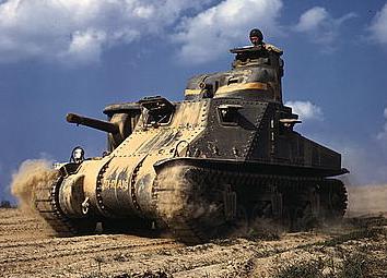 La compagnie de chars Américaine 465362LOCLeesinaction