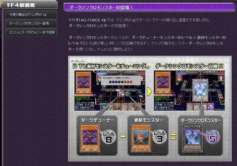 [Annonce] Yu-Gi-Oh! 5D's Tag Force 4 498287Website_0