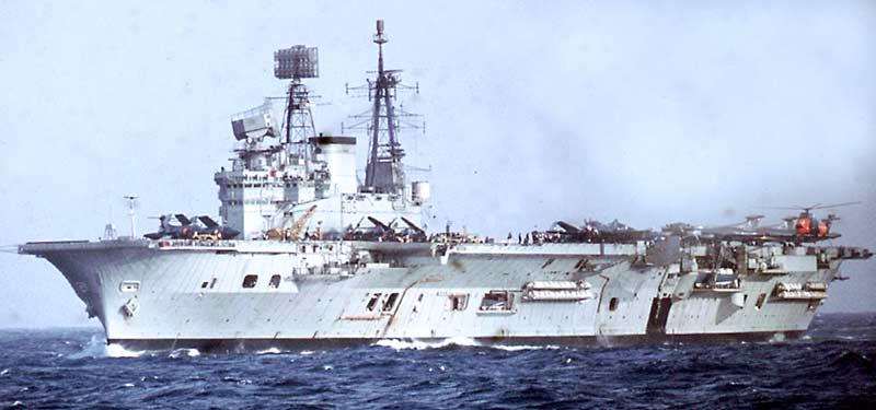 ROYAL NAVY PORTE-AVIONS CLASSE CENTAUR 50068209_HMS_Eagle_Mediterranean_Jan1970
