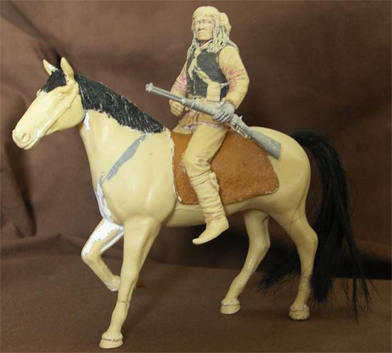 Indien et cheval ( bost ) 505307a_01
