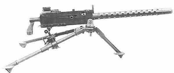 Les armes de l'infanterie: Les mitrailleuses. 508515M1919A4