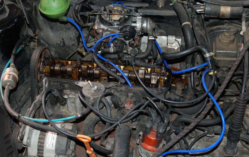 [ Ford galaxy TDI 110 an 1999 ] flexibles d'air 512436DSC_0978