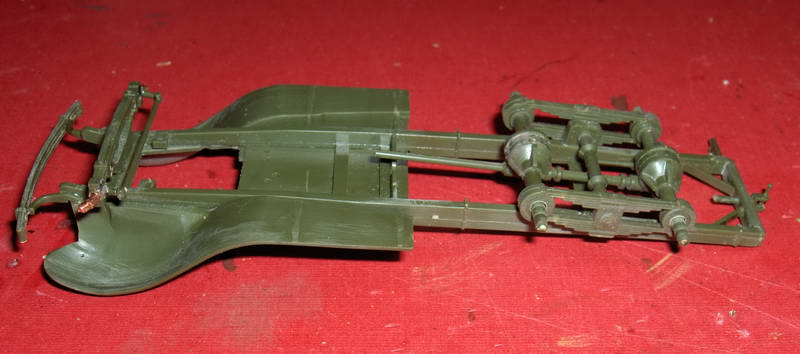 Camion militaire Russe GAZ-AAA  (3-Axel)WWII  Zvezda 1/35 51588HPIM1104