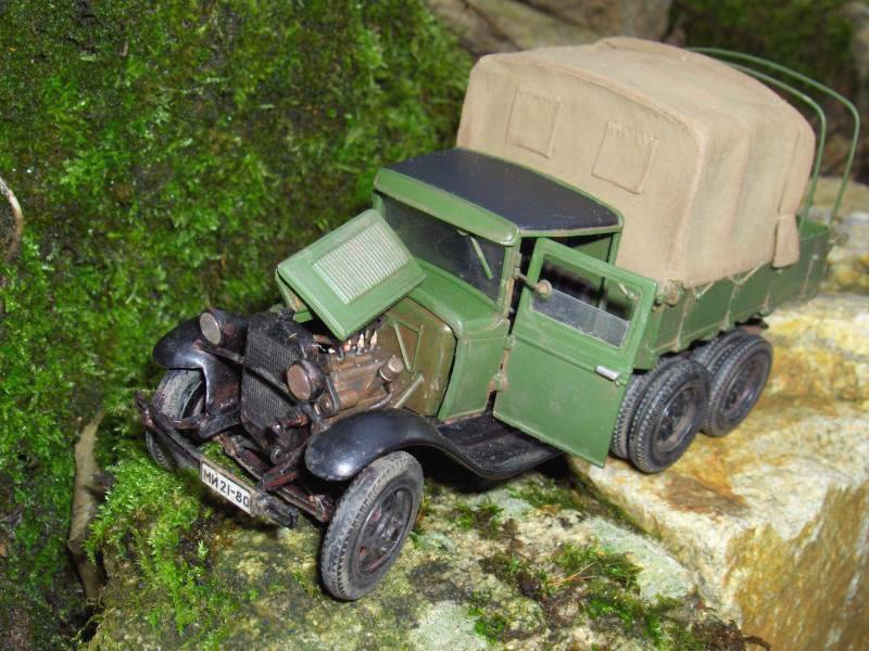Camion Russe  GAZ-AAA 1934/1943 Zvezda 1/35 terminé!!! 516561HPIM1643