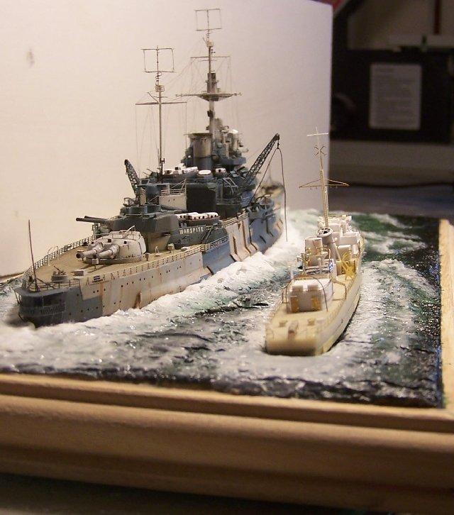 Hms Warspite airfix 1/600 - Page 5 519717hms_Warspite_108