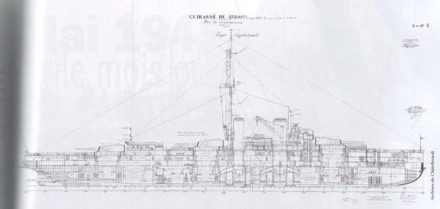 FRANCE CROISEURS DE BATAILLE CLASSE DUNKERQUE 520795Normandie