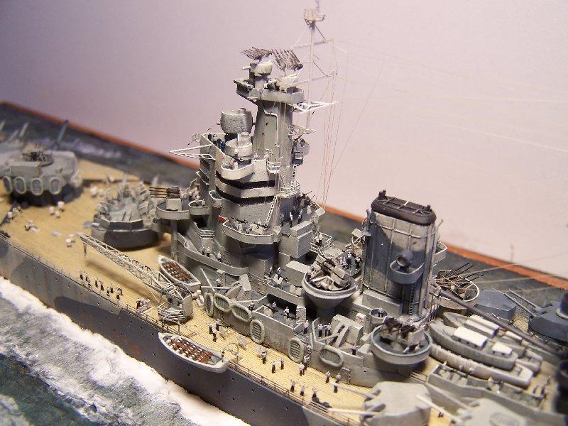 Un petit résumé de mon projet naval Airfix  1/600 543591hmsnelsonfini020