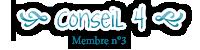 Conseil 4 - Membre n°3