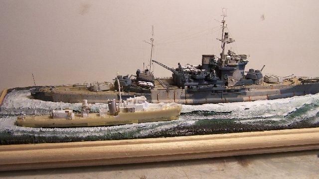 Hms Warspite airfix 1/600 - Page 5 590058hms_Warspite_107