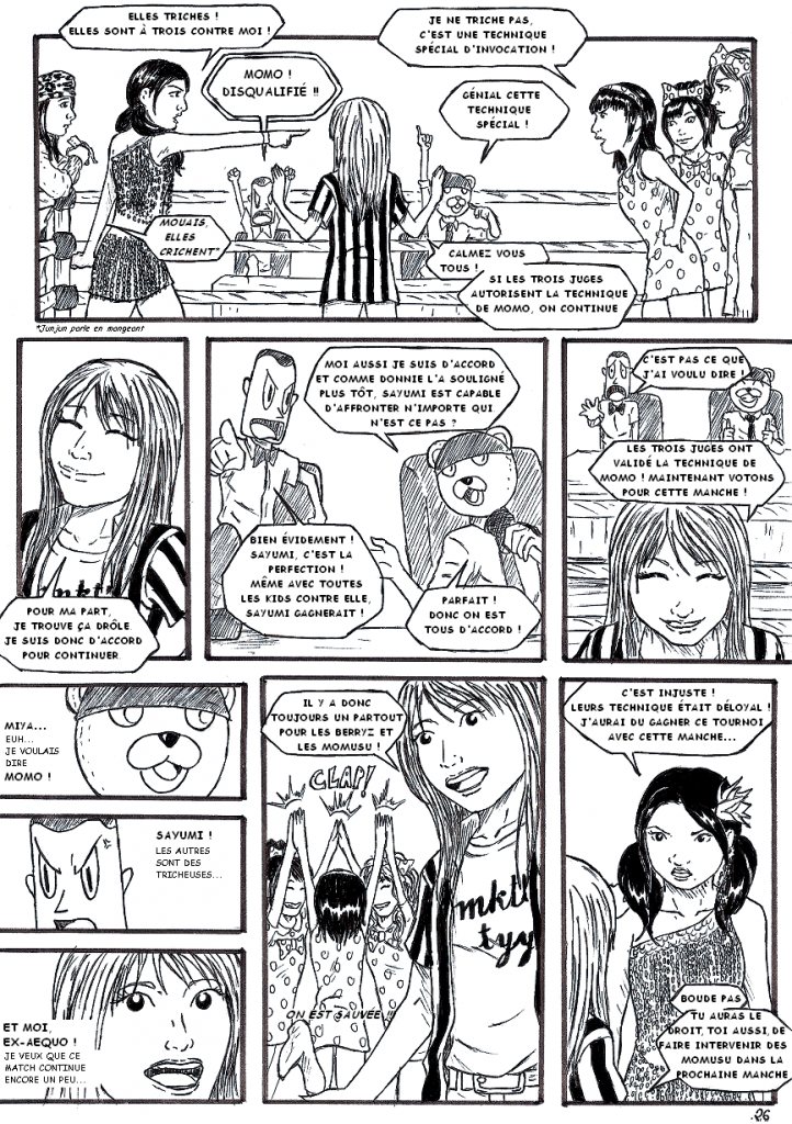 BUONO! MISSION 2 : KAWAII BATTLE Chapitre 6 & 7 (fin) - Page 7 599809KAWAII_BATTLE_26